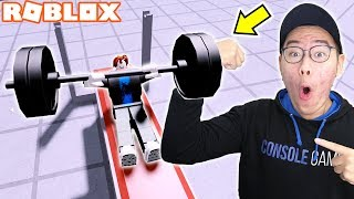 BECOME THE STRONGEST PERSON ON EARTH ROBLOX!!! -ROBLOX WEIGHT LIFTING SIMULATOR 4