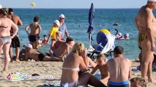 Витязево пляж 29 августа 2015(, 2015-08-29T22:50:34.000Z)