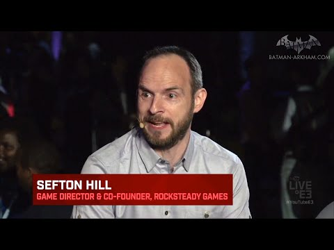 Batman: Arkham VR - E3 Interview with Sefton Hill