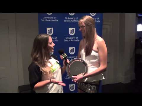 UniSA Sport Awards Female Athlete of the Year, Simone Schubert