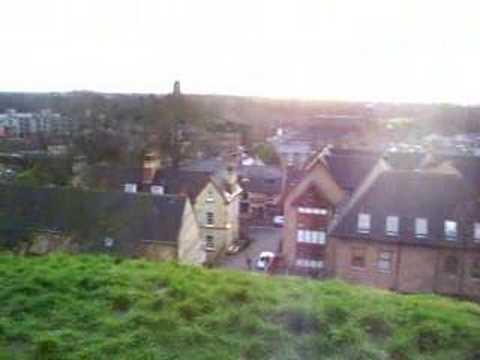 Isolation on Castle Mound, Cambridge