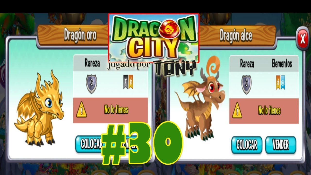 Dragon City Capítulo 30 El Dragón Oro Y El Dragón Alce Por Tony Youtube