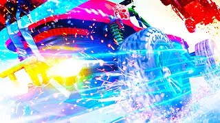 MOTORSTORM + BURNOUT = ONRUSH Gameplay (PS4 PRO)
