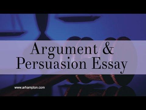 Argument & Persuasive Essay