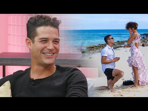 Why Wells Adams and Sarah Hyland Aren't Rushing to Plan Their Wedding (Exclusive)