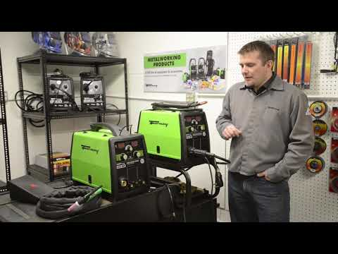 "Forney® 140 & 190 MP Welders: ""3 in 1"" Multiple Welding Processes - MIG, Stick, TIG"