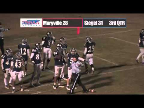 Football Semifinal - Maryville Vs Siegel