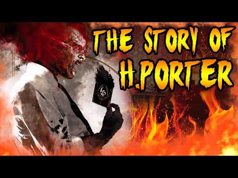 The Story of DR H PORTER! KILLED HIMSELF WITH PILLS in DER RIESE! Call of Duty WAW Zombies Storyline