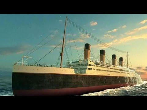 La chine d bute la construction d 39 une r plique taille r elle du titanic youtube - Dessin du titanic ...