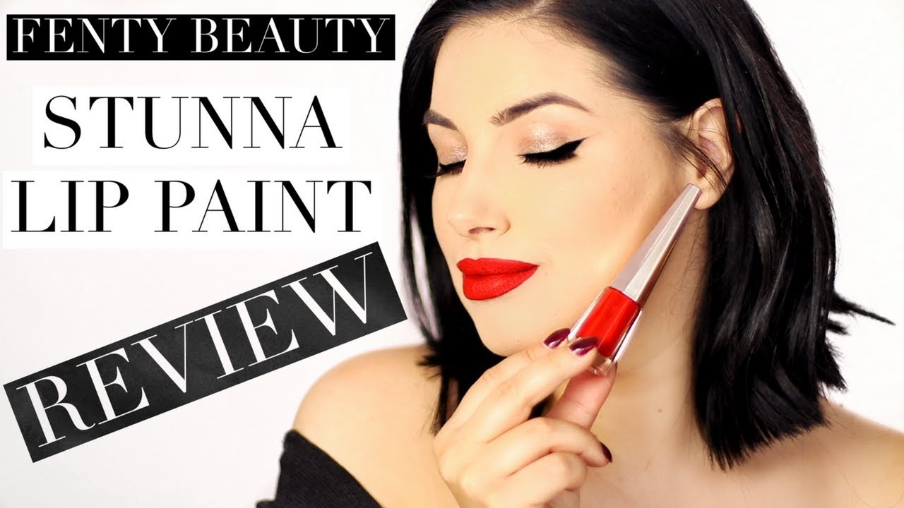 Fenty Beauty Stunna Lip Paint Review Youtube