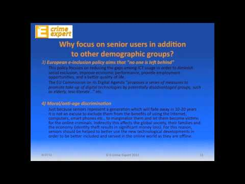E-Crime Education for Seniors