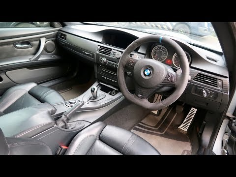 Cleaning my Cars Floor, Leather & Alcantara Interior! (BMW E92 M3 Silverstone Blue LCI Coupe)