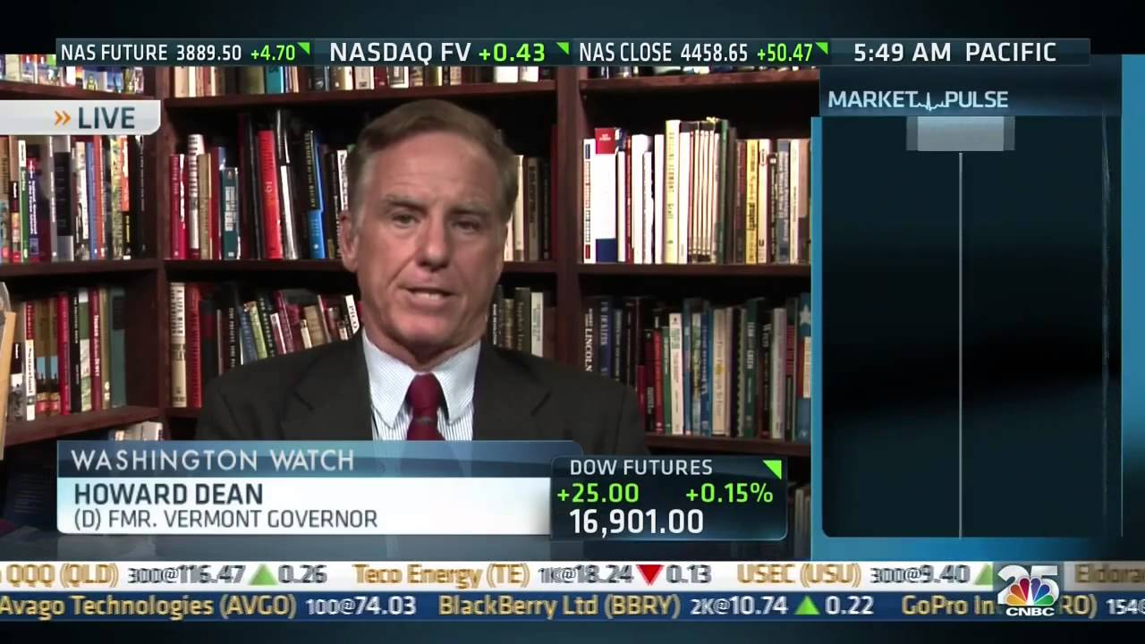 Gov  Howard Dean on CNBC 07-02-2014 - Alliance for Competitive