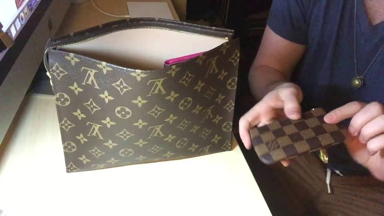 c54b5b497496 My Girlfriend s Toiletry Pouch 26 By Louis Vuitton - YouTube