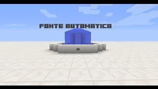 Minecraft Tutorial 3 Como fazer uma fonte automatica