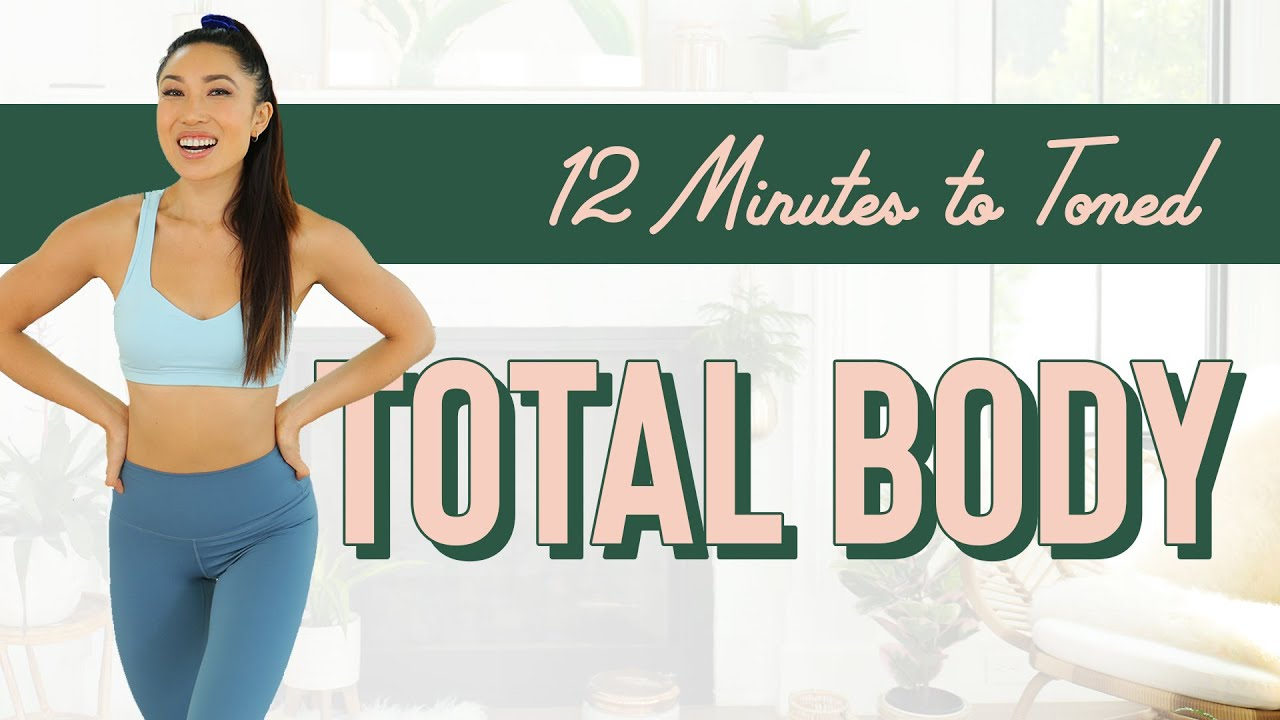 Download 12 Minutes to Toned Total Body Workout
