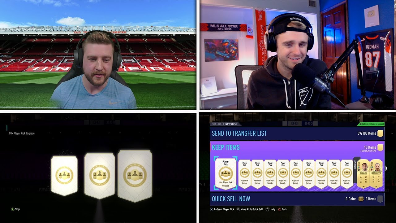 PLAYER PICK PACK CHALLENGE! - FIFA 21