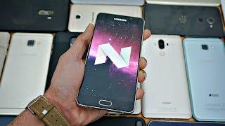 android 7 0 nougat update status original a5 a3 a7 j5 j7 2015 models