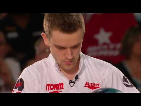 Francois Lavoie 10th frame of 300 game in 2016 U.S. Open TV finals