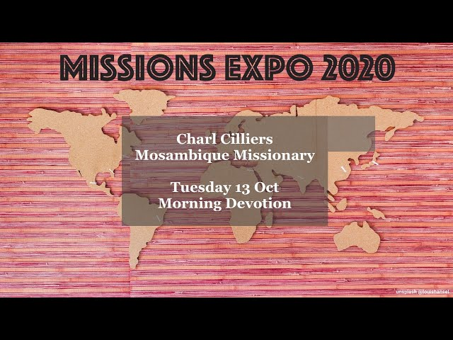 Charl Cilliers - Mosambique Missionary