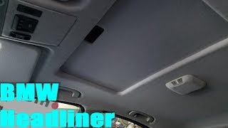 homepage tile video photo for E39 BMW Headliner Re-Wrap (Part 4 of 4)