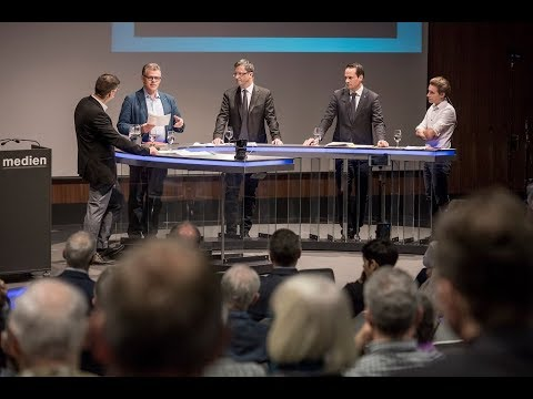 LZ-Podiumsdiskussion zur No-Billag-Initiative
