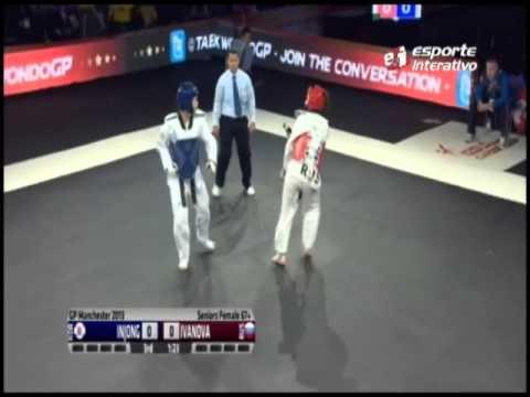 Olga Ivanova derrota Injong Lee e conquista ouro no GP de Taekwondo