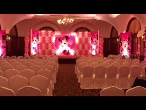 Mickey Mouse Theme In Chennai From Modern Event Makers Mr.Akhil 9884378857