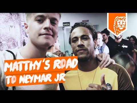 MATTHY`S ROAD TO NEYMAR JR in BRAZILIË!