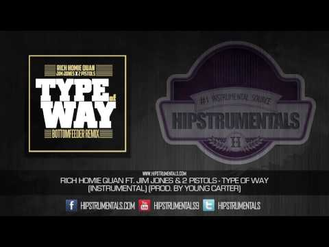 Rich Homie Quan - Type of Way [Instrumental] (Prod. By Young Carter) + DOWNLOAD LINK