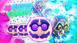 "Agar.io - ""How GOOD is ROYAL at AGAR.IO?"" #AGAR.IO UNCUT CHALLENGE!!"
