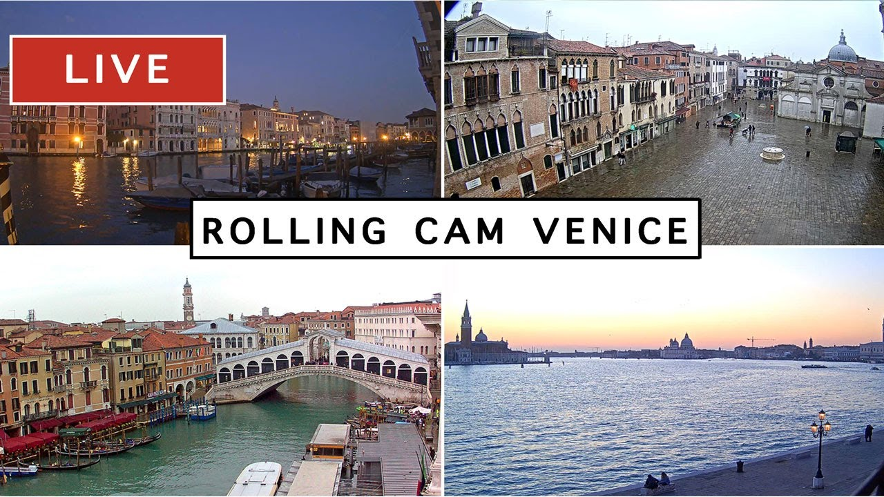Download Rolling Cam Venice - The most beautiful Live Cam in Venice Italy