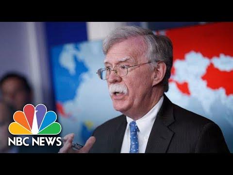 John Bolton On Venezuela: 'All Options Are On The Table' | NBC News