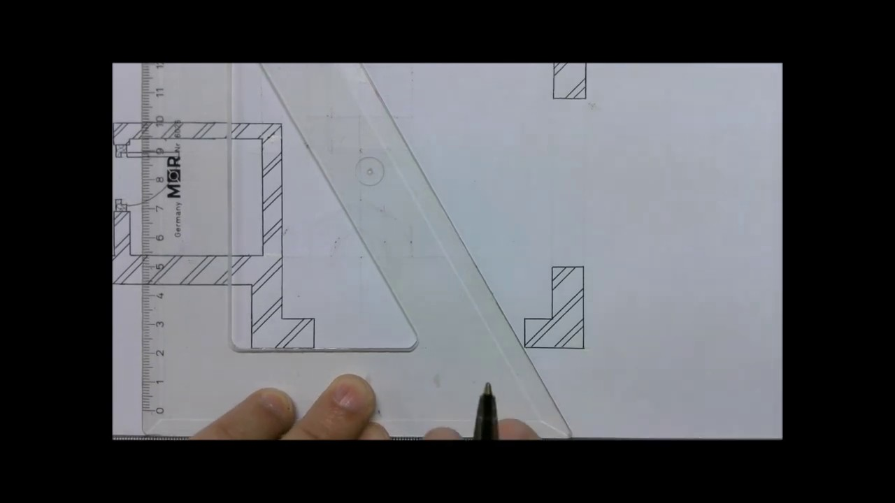 Civil Technology Garage And Sliding Door On Floor Plan Youtube