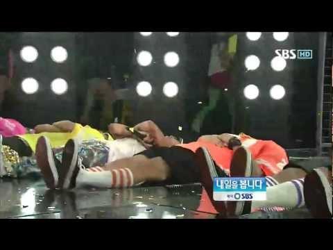 G-DRAGON [크레용] @SBS Inkigayo 인기가요 20120930
