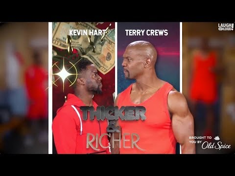 Kevin Hart & Terry Crews in Thicker & Richer: Ultimate down  Laugh Out Loud Network