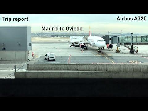 TRIP REPORT | Madrid to Oviedo | Iberia Express Airbus A320