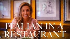 ITALIAN PHRASES FOR THE RESTAURANT: Top Mistakes Tourists Make in Italy