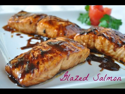 Easy Glazed Salmon Recipe With 4 Ingredients (Most Popular Healthy Salmon Recipe)