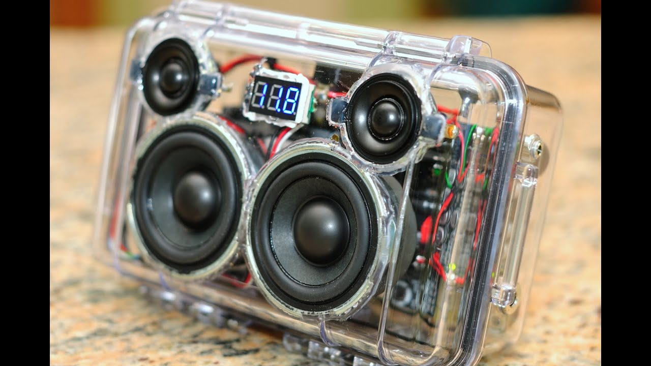 Diy Custom Pelican 1050 Mini Boombox W Bluetooth V4 Aptx