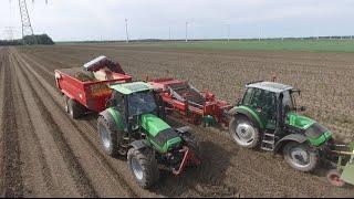 Potato Harvest | Deutz-Fahr Agrotron TTV 420 & Kverneland Underhaug 2600 |