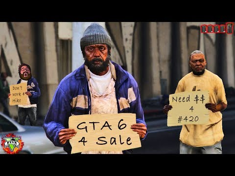 GTA 5 THE HOMELESS LIFE!! - New Homeless Game Mode!! - Grand Theft Auto 5 Roll Play Life