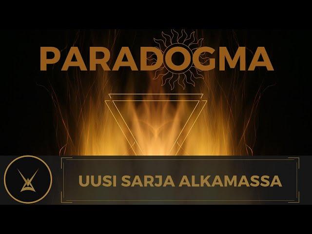 Ilmoitus: Paradogma - uusi julkaistava sarja