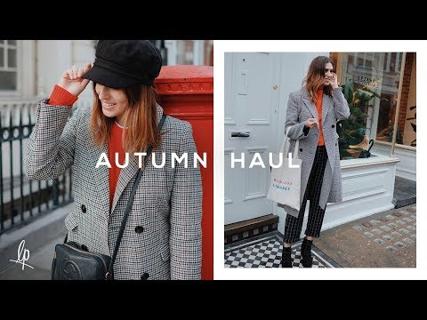 WHAT I BOUGHT LAST MONTH: AUTUMN HAUL | Lily Pebbles