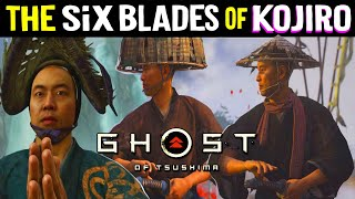 ALL THE SIX BLADES of KOJIRO + MAP Locations & All 5 Straw Hat Boss Duels - Ghost of Tsushima