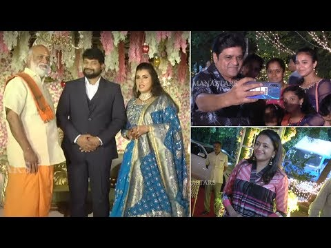 TFI Celebs EXCLUSIVE VISUALS @ Archana Wedding   Actress Archana Wedding