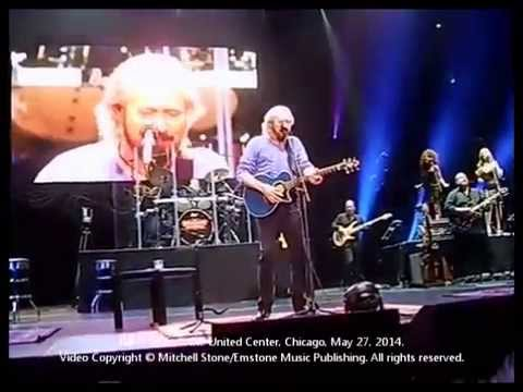 Barry Gibb In Concert at Chicago's United Center, May 27, 2014
