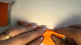 Оригами Лиса(http://ostrovdetok.ru/origami1.shtml видео урок, как сделать оригами лису с ребенком дома или в детском саду., 2014-07-03T16:18:39.000Z)