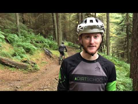 How To Ride Rooty Technical Drop Offs