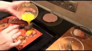 Muffin Hearty Breakfast /  Muffin Kiadós Reggeli.